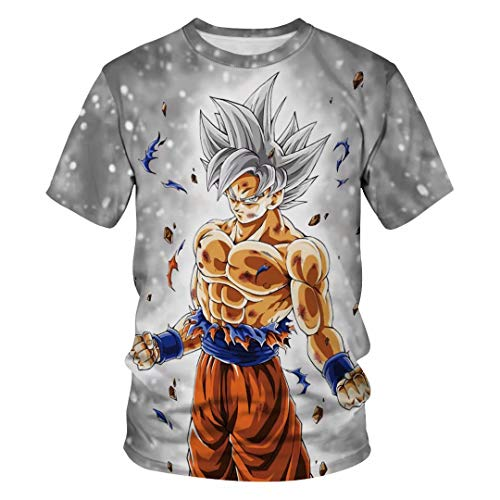 Tsyllyp Goku Dragon Ball Z DBZ Compression T-Shirt Muscle Shirt Super -