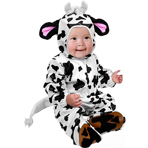 Cow Costumes Infant (Infant Cow Farm Animal Baby Costume (18-24m))