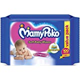 Mamy Poko Baby Wipes (100 Count)