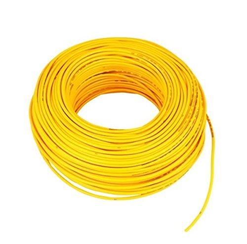 Polycab 1sqmm PVC Wire (Yellow)