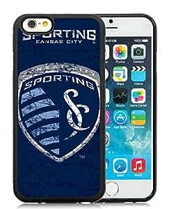 Sporting Kansas City 11 Black Individual Custom iPhone 6 4.7 Inch TPU Case