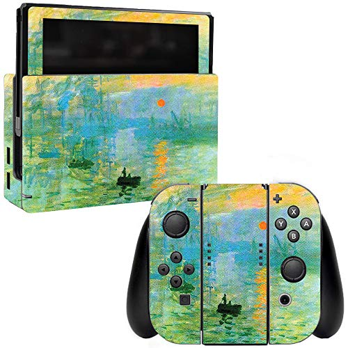 MightySkins Skin Compatible with Nintendo Switch - Impression Sunrise | Protective, Durable, and Unique Vinyl Decal wrap Cover | Easy to Apply, Remove, and Change Styles | Made in The USA
