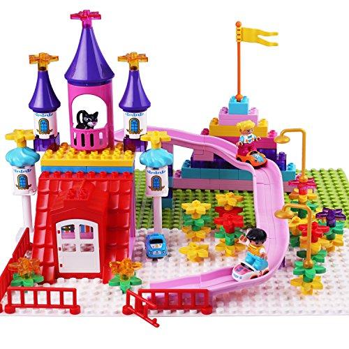 Cheap Building Sets iplay ilearn compatible kids interlocking toy brick box kit city building block