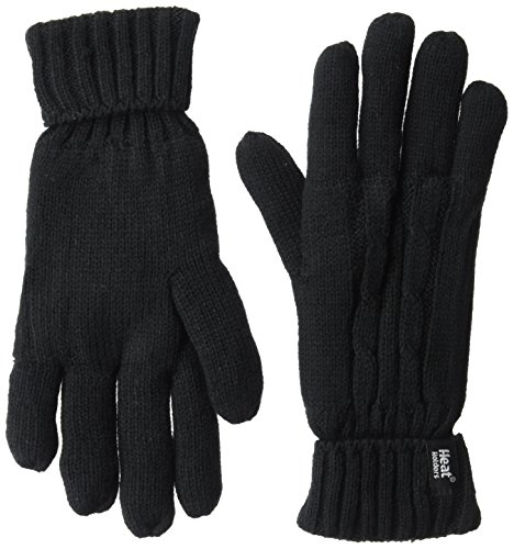 Heat Holders Women's Gloves, Black, Large/X-large
