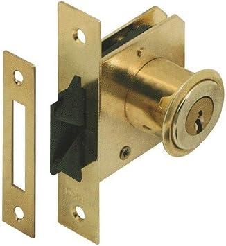 Urko - 2 cerraduras de cilindro para puertas correderas 70 x 15 mm 20 x L. 19 mm – Tipo 27-7106025x2 – Urko: Amazon.es: Bricolaje y herramientas