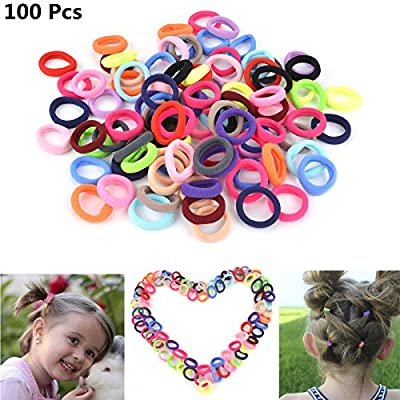 23 x Love Hearts Hair Elastics Bobbles Ponios Hairband Ponytail Holders