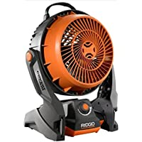 Ridgid R860720B GEN5X 18-Volt Hybrid Cordless & Corded Fan (Battery and Charger Not Included) by Ridgid