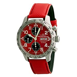Zeno-Watch Mens Watch - NC Pilot Tachymeter Chronograph Day-Date - 9557TVDD-2T-b7
