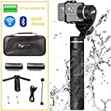 Feiyu Tech G6 3-Axis Splash Proof Handheld Gimbal Stabilizer for GoPro Hero 6/5/4 and Other Action Cameras | FREE Ulanzi Mini Tripod & Extra Battery