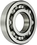 SKF 6322/C3 Radial Bearing, Single Row, Deep Groove Design, ABEC 1 Precision, Open, C3 Clearance, Steel Cage, 110mm Bore, 240mm OD, 50mm Width, 180000lbf Static Load Capacity