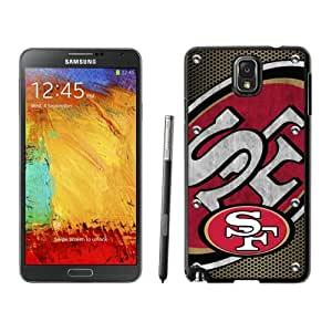 Fashionable And Nice Designed Case For Samsung Galaxy Note 3 N900A N900V N900P N900T With San Francisco 49ers 04 Black Phone Case
