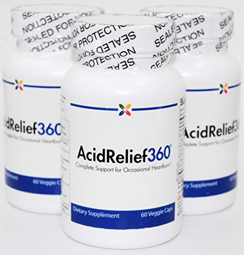 Stop Aging Now AcidRelief360 Formula with GutGard Capsules, 60 capsules (3) by Stop Aging Now