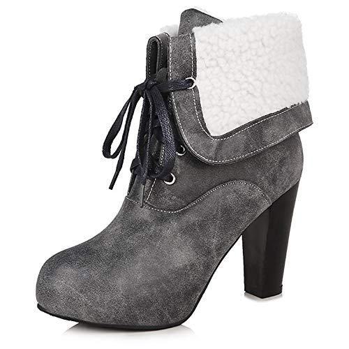 373bc7d689d Women's Fashion Boots PU(Polyurethane) Winter Boots Chunky Heel ...