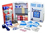 Certified Safety K609-056 75V ANSI Hospitality First Aid Kit 3 Shelf Metal Cabinet