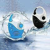 Waterproof Shower Radio, Splash Proof AM/FM Radio
