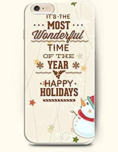 SevenArc New Apple iPhone 6 ( 4.7 Inches) Hard Case Cover - It's Most Wonderful Time of the Year - Happy Holidays...