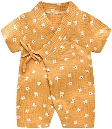 [해외]엔젤 스페이스 키즈 귀여운 반소매 인쇄 통기성 장난 꾸러기 바디 수트 점프 수트 / AngelSpace Kids Cute Short Sleeve Printing Breathable Romper Bodysuit Jumpsuit