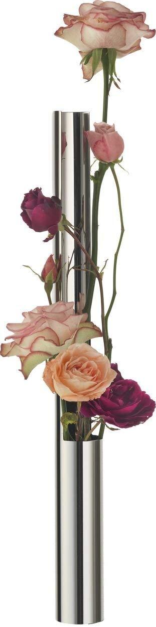 Alessi - MGU03 - Flower vase tube Vaso per fiori in acciaio inossidabile 18 10 lucido.