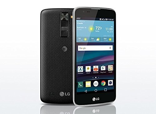 LG K8 Phoenix 2 K371 AT&T GSM Unlocked 4G LTE 16GB Smartphone - Black (At And T Cell Phones)