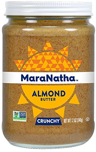 MaraNatha All Natural No-Stir Crunchy Almond Butter (2 Pack) (Packaging May Vary) Crunchy Almond Butter
