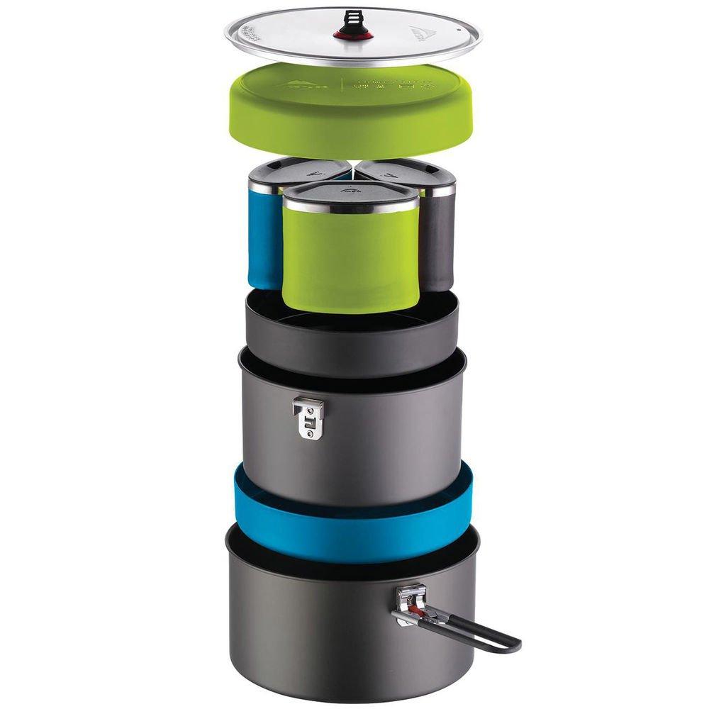 MSR Flex 3 Cookingシステム B07B4GFJ4D  Black, Blue, Green One Size