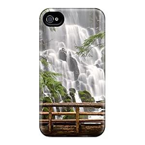 Hot Tpye Waterfall Narure Case Cover For Iphone 4/4s