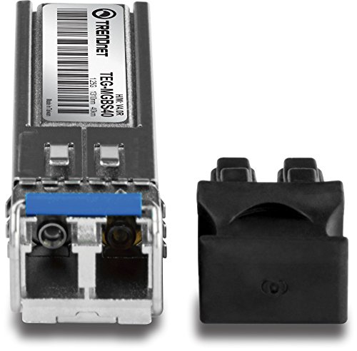 TRENDnet Gigabit SFP module, Single-Mode, Mini-GBIC, Up to 40 km, TEG-MGBS40 by TRENDnet (Image #1)