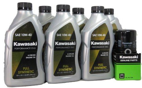 2012 Kawsaki VULCAN 1700 VAQUERO Full Synthetic Oil Change Kit