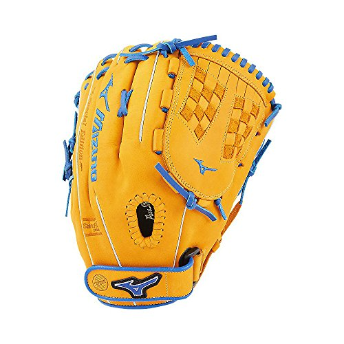Mizuno MVP Prime SE Fastpitch GMVP1250PSEF Infield/Outfield Model Gloves, Cork/Royal, 12.5""