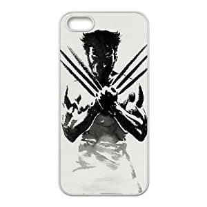 iPhone 5 5s Cell Phone Case White Wolverine 007 HIV6755169545322