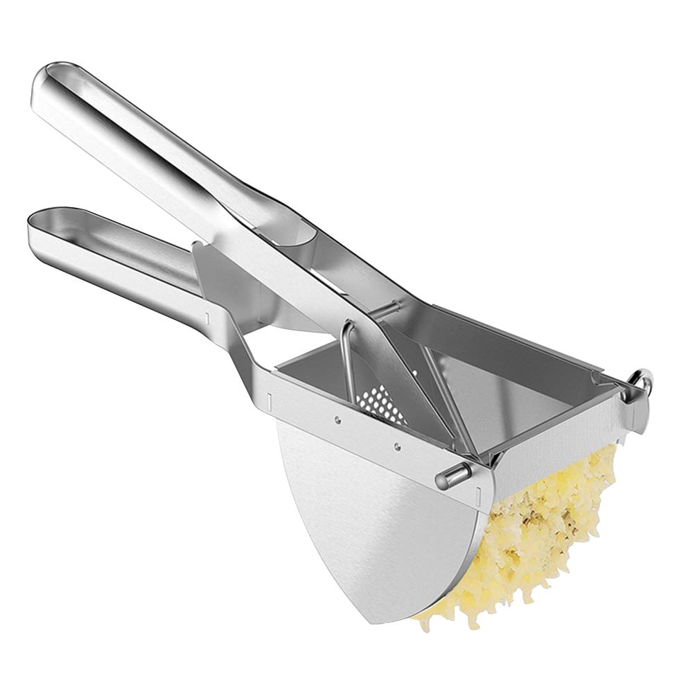 MyLifeUNIT Heavy Duty Commercial Potato Ricer, Stainless Steel Business Potato Ricer and Masher by MyLifeUNIT