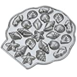Nordic Ware Platinum Collection Sea Shell Teacakes Pan