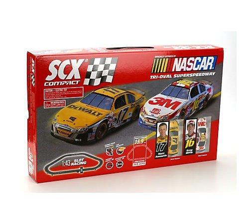 Scx Slot Car Track - SCX Compact Nascar Set 2008