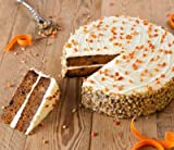 Sweet Street Iced Two Layer Carrot Cake 4.5 lb (14 Slice) Pack of 4