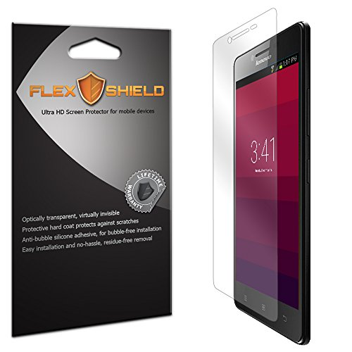 Tempered Glass for Lenovo A6000 Clear - 6