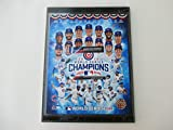 """CHICAGO CUBS 2016 WORLD SERIES CHAMPIONS PHOTO MOUNTED ON A""""9 X 12"""" BLACK MARBLE PLAQUE"""