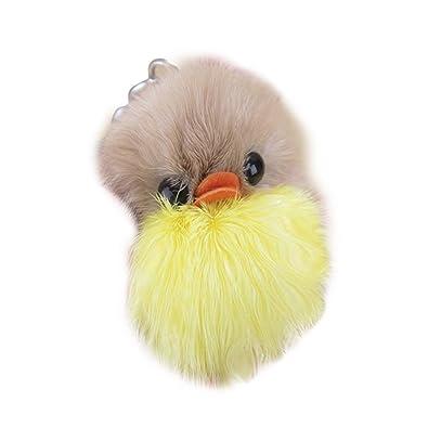 Amazon.com: Aland - Llavero de peluche, diseño de gallinas ...
