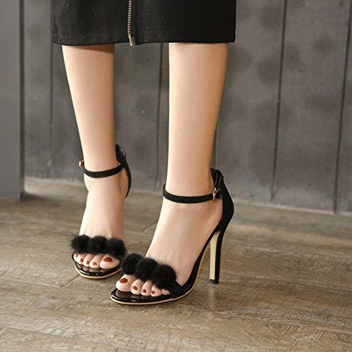 Cuero sint de Mujer Zapatos de Ogvtq