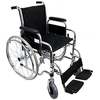 Silla de ruedas plegable (Rueda 300 mm y 600mm) - grande
