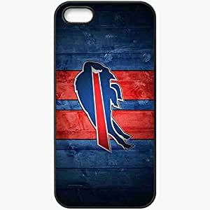 Personalized iPhone 5 5S Cell phone Case/Cover Skin 468 buffalo bills Black
