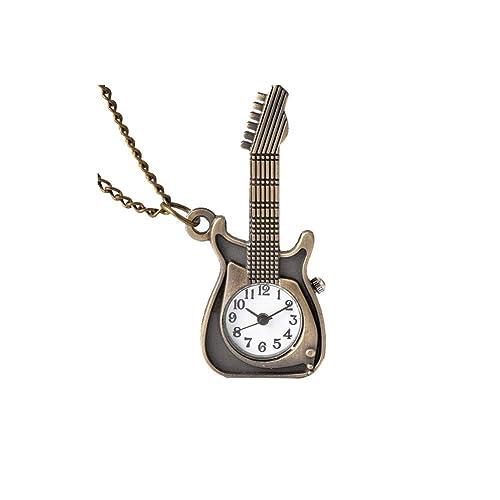 Sungpunet Forma del Reloj de Bolsillo de la Guitarra Estilo ...
