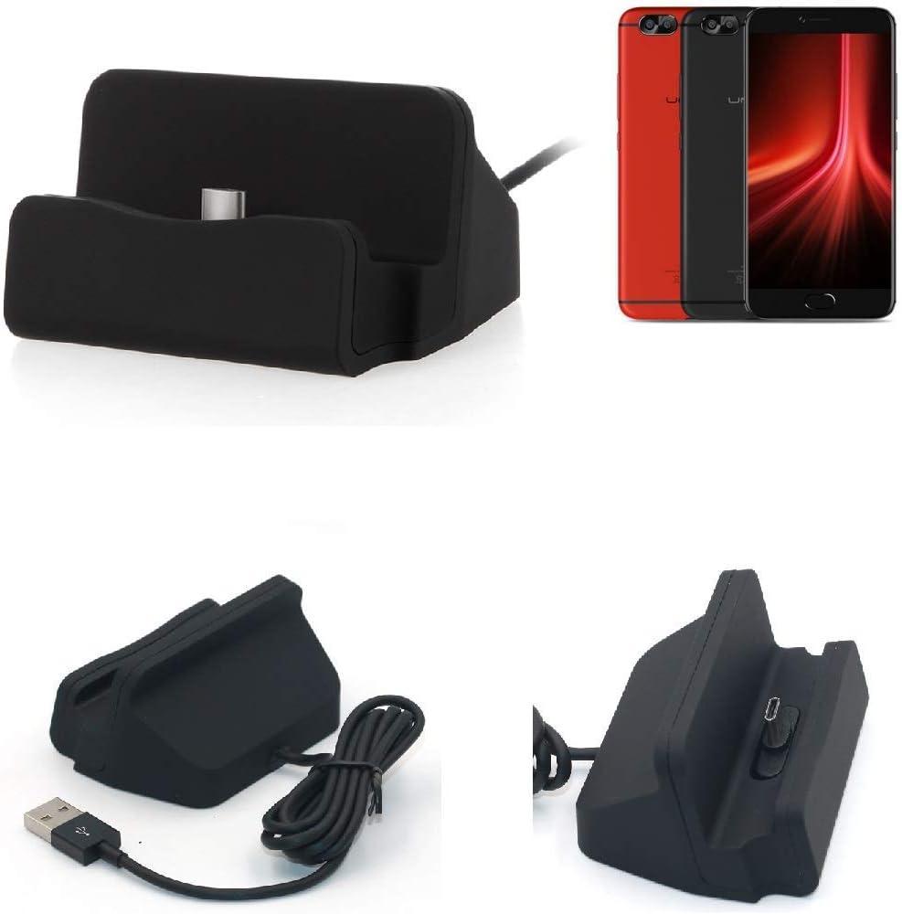 K-S-Trade Dock USB para el UMIDIGI Z1 Pro, Negro | estación de ...