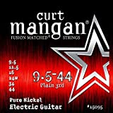 Curt Mangan Fusion Matched Pure Nickel Electric Strings (9.5-44)
