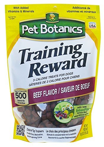Cardinal Laboratories Pet Botanics Training Rewards Treats for Dogs, Beef, 20 oz.