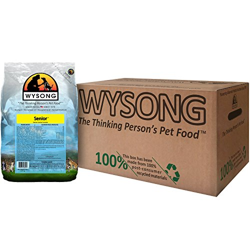 Wysong Senior Canine Formula Dry Diet Senior Dog Food, Four- 5 Pound Bags