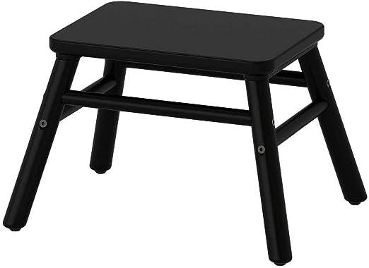 IKEA ASIA VILTO - Taburete, Color Negro: Amazon.es: Juguetes y juegos