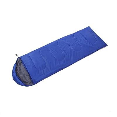 SHUIDAI Plein air sac de couchage avec capuche/camping , treasure blue , (190+30) *75 (cm)