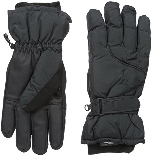 Igloos Women's C40 Thinsulate Insulation Ski Gloves, Anthracite, Medium/Large/60cm