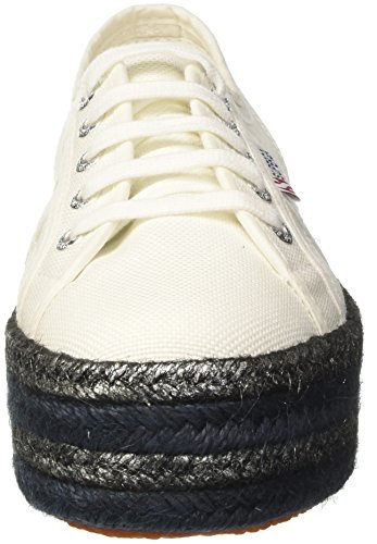 Noir Cotcoloropew White Femme 2790 901 Baskets Blanc Superga x1IaTq6W