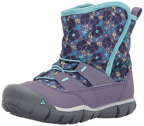 Image of the KEEN Peek-A-Boot, Montana Grape/Aqua Haze, 9 Toddler US